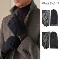 JILLSTUART Leather Leather & Faux Leather Gloves