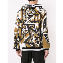 Dolce & Gabbana Sweatshirts Pullovers Star Leopard Patterns Street Style Long Sleeves 4