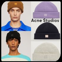 Acne Unisex Street Style Knit Hats