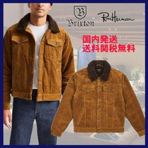 Ron Herman Stand Collar Coats Short Tweed Blended Fabrics Street Style