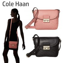 Cole Haan Casual Style Plain Leather Elegant Style Shoulder Bags