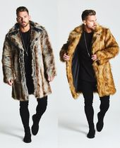BEAUXNARROW Faux Fur Street Style Coats