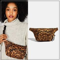 SKINNYDIP Leopard Patterns Casual Style 2WAY Bags