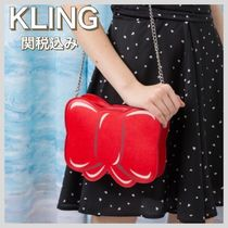 KLING Casual Style Chain Shoulder Bags