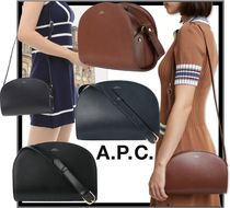 A.P.C. Casual Style Shoulder Bags