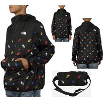 THE NORTH FACE ALL-OVER LOGO FANORAK JACKET
