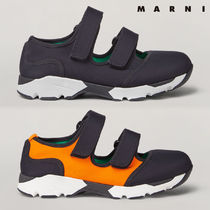 MARNI Rubber Sole Casual Style Plain Low-Top Sneakers