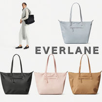 Everlane Nylon A4 Plain Office Style Totes