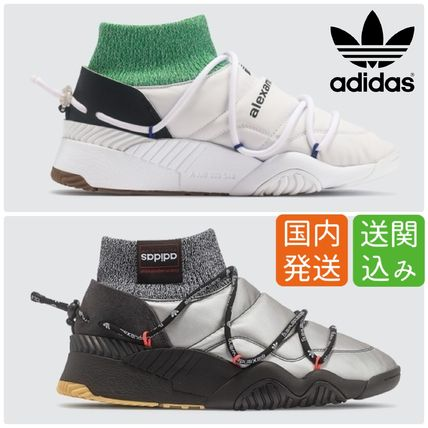 Street Style Collaboration Logo Sneakers