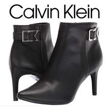 Calvin Klein Casual Style Faux Fur Plain Pin Heels Party Style