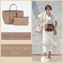 State of Escape Casual Style 2WAY Plain Totes