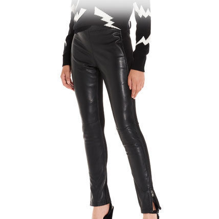 Street Style Plain Leather Leather & Faux Leather Pants