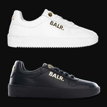 BALR Street Style Leather Sneakers