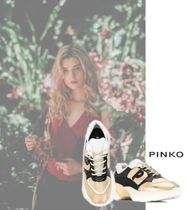 PINKO Rubber Sole Casual Style Low-Top Sneakers
