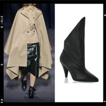 GIVENCHY Leather Elegant Style Ankle & Booties Boots