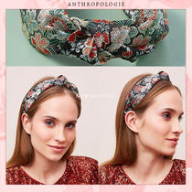 Anthropologie Costume Jewelry Scrunchy Casual Style Unisex Blended Fabrics