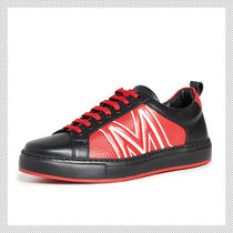 MCM Bi-color Leather Sneakers