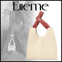 elleme Casual Style 2WAY Elegant Style Totes