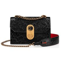 Christian Louboutin Leopard Patterns Casual Style Calfskin 3WAY Leather