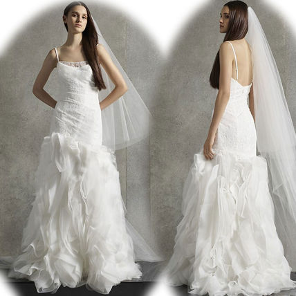 Plain Long Wedding Dresses