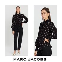 MARC JACOBS Flower Patterns Long Sleeves Medium Shirts & Blouses