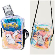 RIPNDIP Casual Style Street Style Shoulder Bags