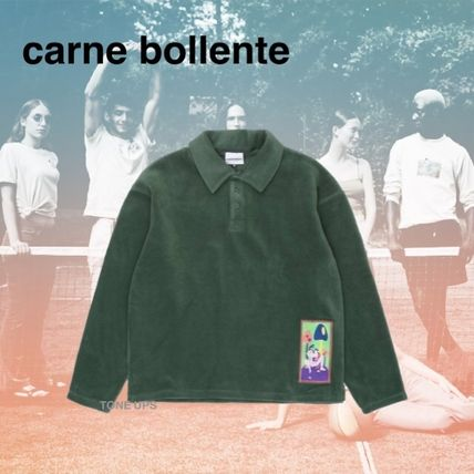 Pullovers Unisex Long Sleeves Polos