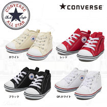 CONVERSE ALL STAR Unisex Street Style Baby Girl Shoes