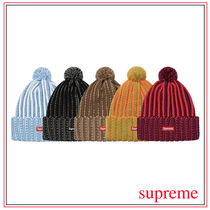 Supreme Unisex Street Style Knit Hats