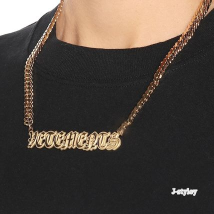 Street Style Brass Necklaces & Pendants