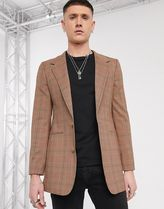 ASOS Other Plaid Patterns Long Blazers Jackets