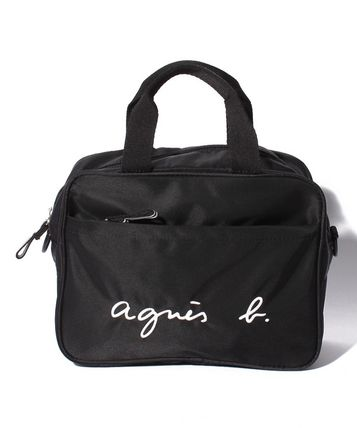 Plain Logo Shoulder Bags