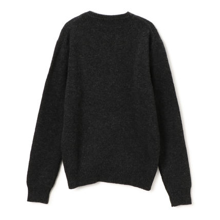 Pullovers Wool Long Sleeves Other Animal Patterns Sweaters