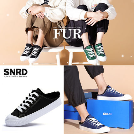 Round Toe Rubber Sole Casual Style Unisex Plain Slippers
