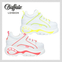 Buffalo LONDON Platform Casual Style Street Style Leather