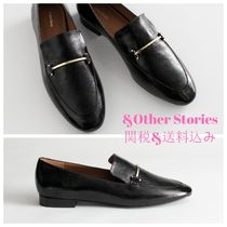 & Other Stories Plain Toe Casual Style Street Style Plain Leather