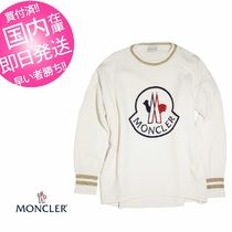 MONCLER Crew Neck Wool Cashmere Long Sleeves Cashmere