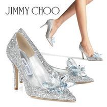 Jimmy Choo Pin Heels Party Style Stiletto Pumps & Mules