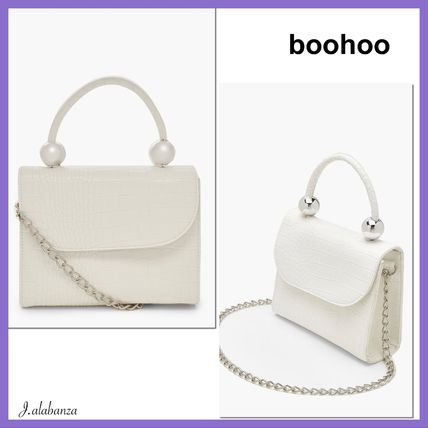 Casual Style 2WAY Plain Party Style Crossbody Shoulder Bags