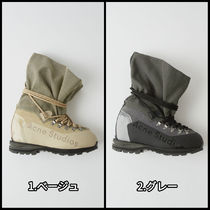 Ance Studios Mountain Boots Round Toe Rubber Sole Casual Style Unisex