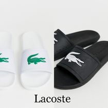 LACOSTE Unisex Street Style Plain Shower Shoes Shower Sandals