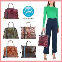 gabs Flower Patterns Casual Style Office Style Handbags