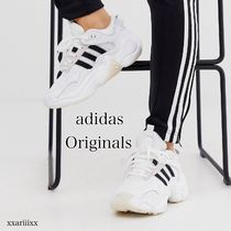 adidas Stripes Casual Style Unisex Street Style Plain Leather