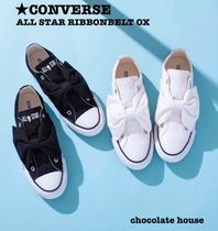 CONVERSE ALL STAR Heart Casual Style Unisex Low-Top Sneakers