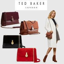 TED BAKER Casual Style Suede Chain Plain Office Style Elegant Style