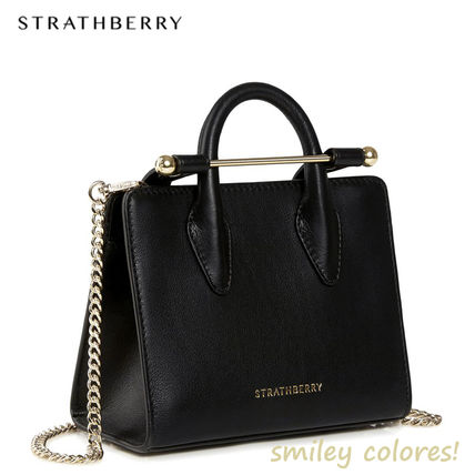 Casual Style Leather Elegant Style Crossbody Formal Style