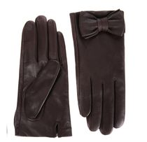 JILLSTUART Plain Leather Leather & Faux Leather Gloves