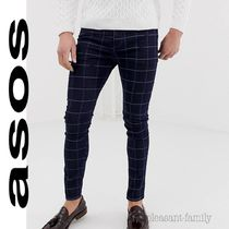 ASOS Other Check Patterns Skinny Jeans