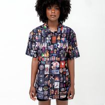 BEYONCE Casual Style Unisex Street Style Collaboration Short Sleeves