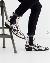 ASOS Other Animal Patterns Chelsea Boots Chelsea Boots
